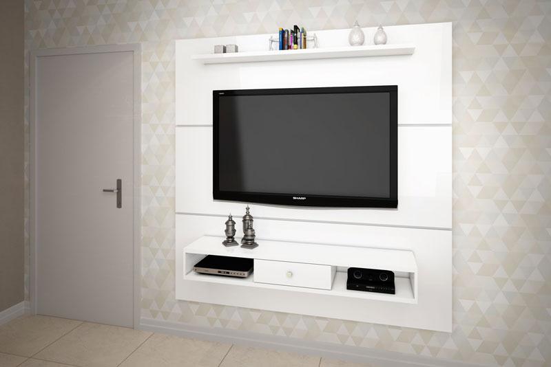 Painel para TV JB 5000 Branco - JB Bechara
