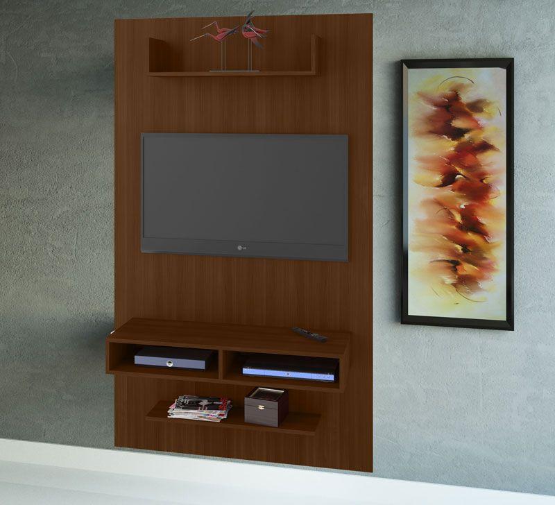 Painel para TV JB 5001 Castanho - JB Bechara