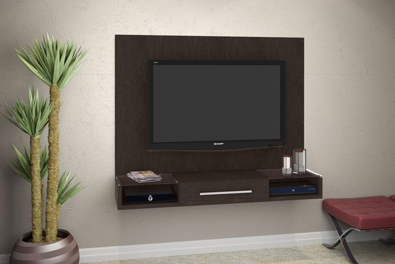 Painel para TV JB 5004 Imbuia - JB Bechara  - MoveisAqui - Loja de móveis online!