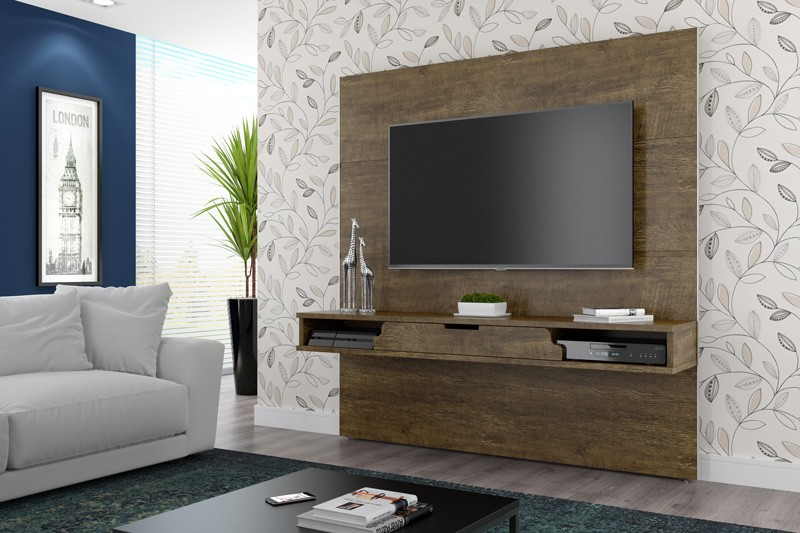 Painel para TV London Imbuia - RV Móveis