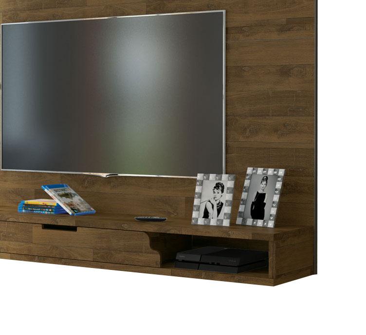 Painel para TV Los Angeles Amadeirado - RV Móveis