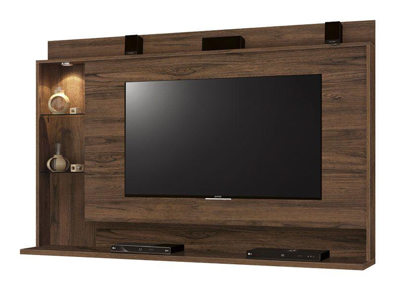 Painel para TV Lumini Rovere - Edn Móveis