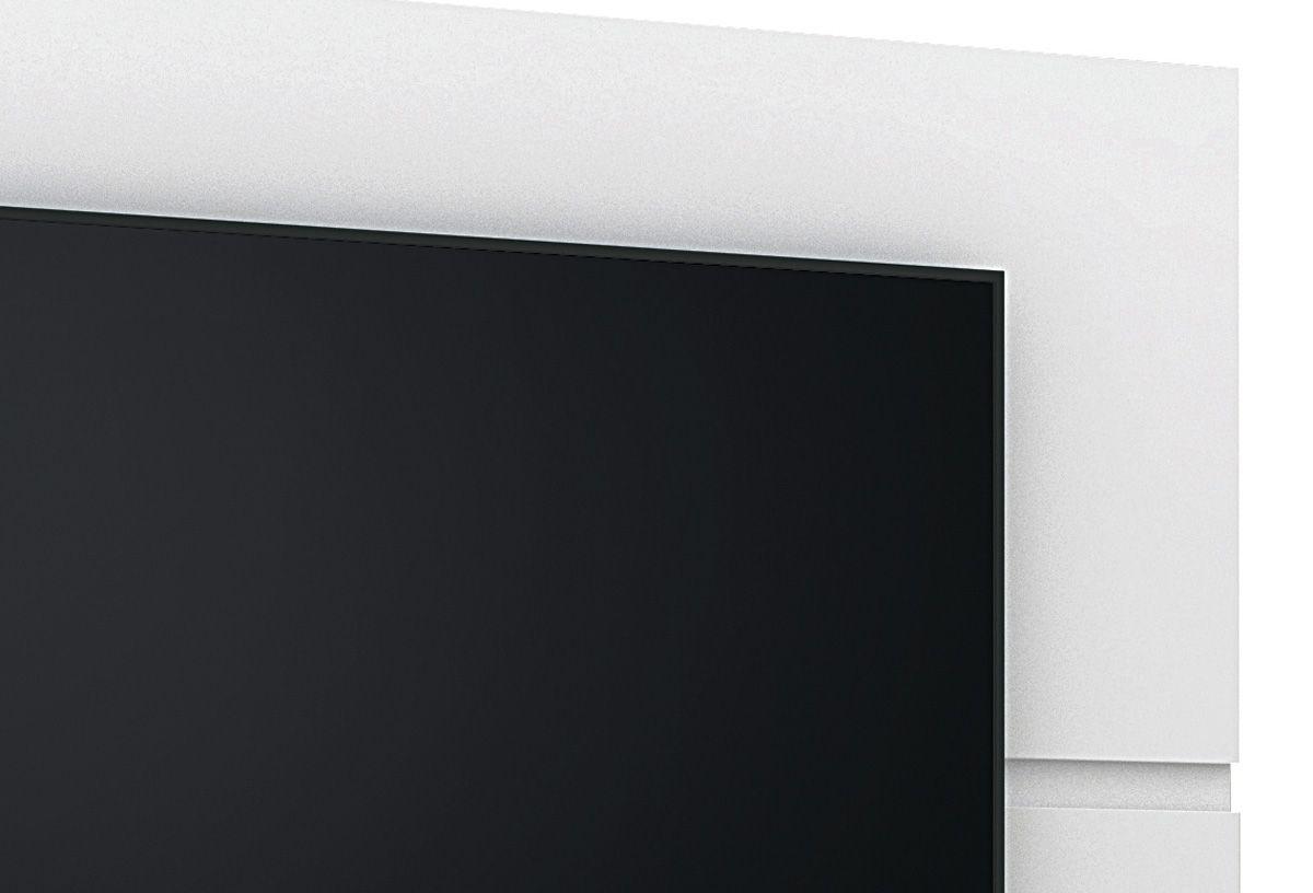 Painel para TV Mônaco New Branco - Lukaliam Móveis