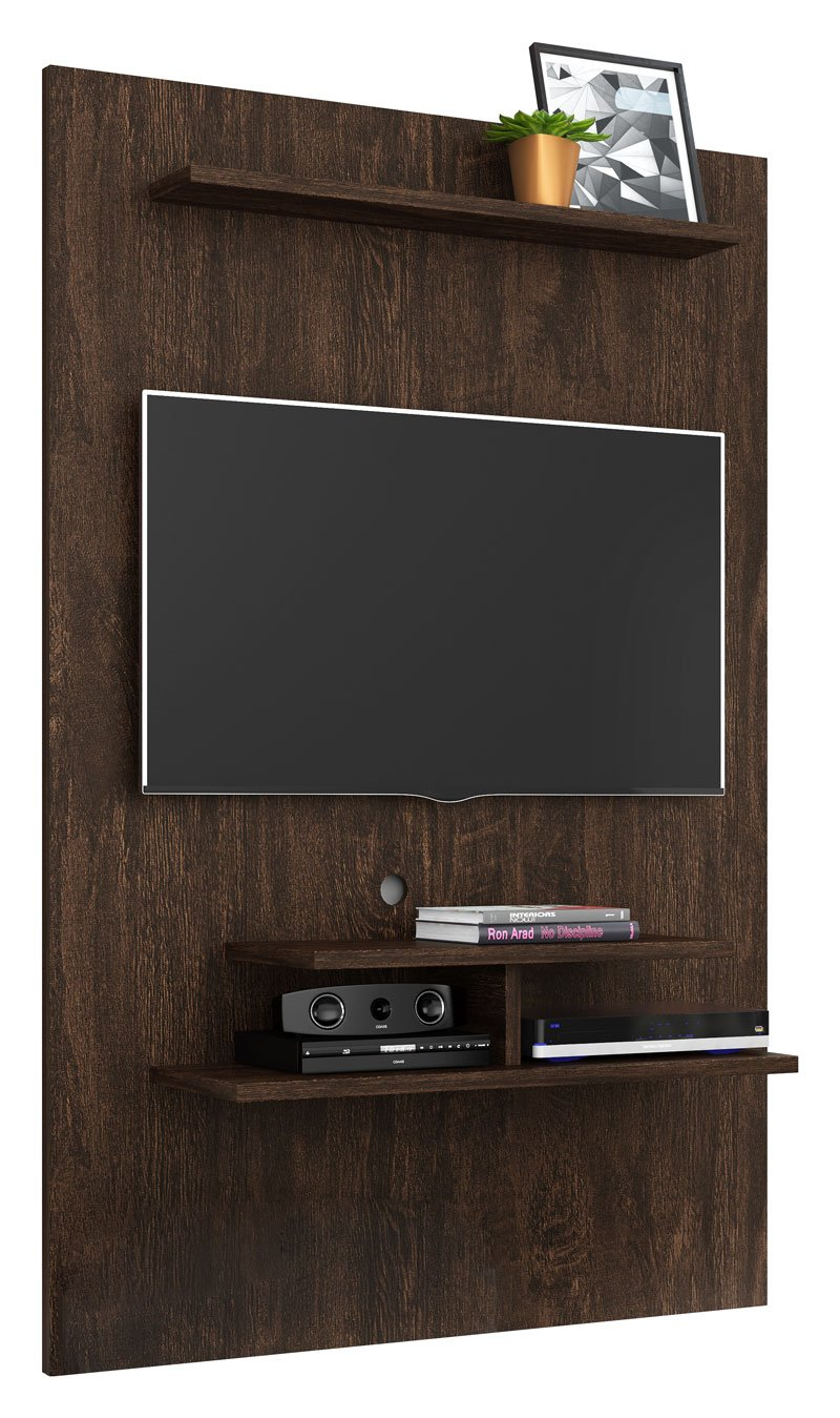 Painel para TV Moscou Noce - Lukaliam Moveis