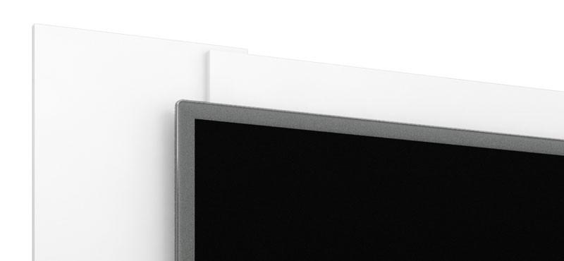 Painel para TV Navi Branco - Móveis Bechara