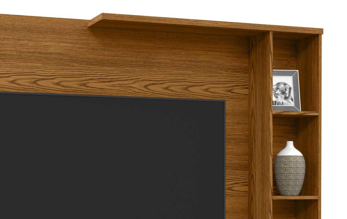 Painel para TV Sublime Cumarú com Off White - Patrimar Móveis