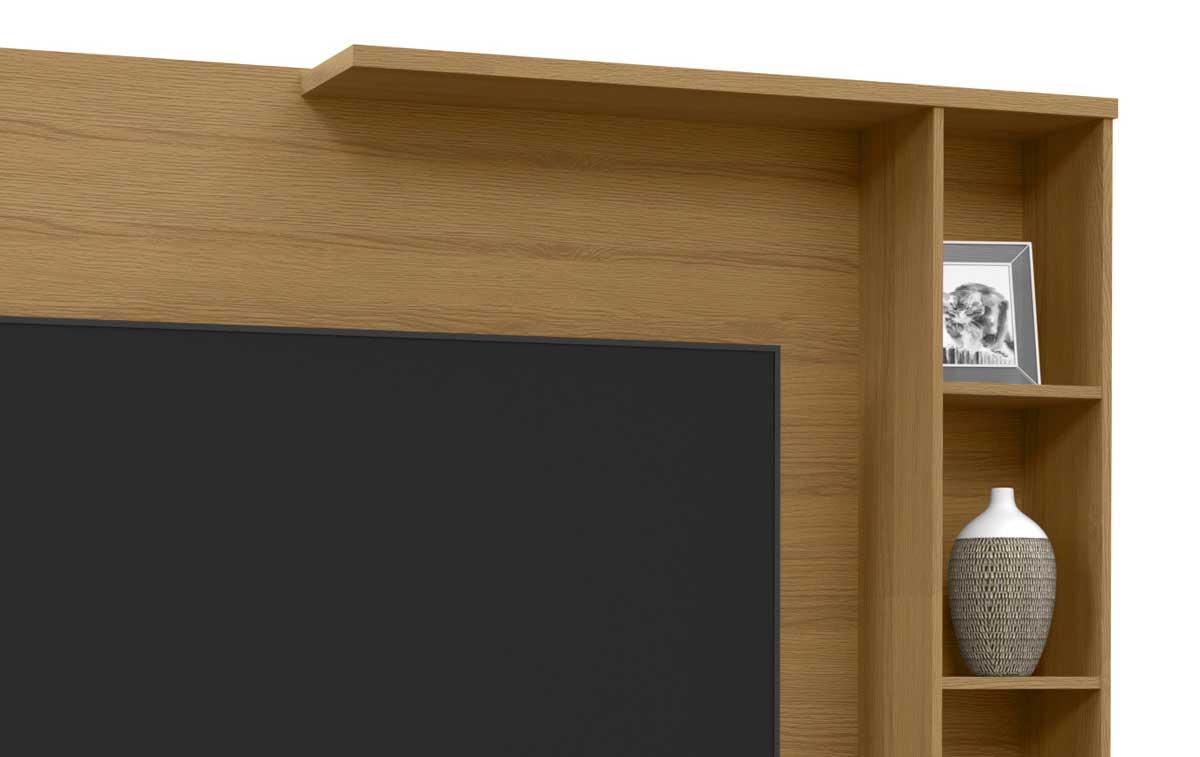 Painel para TV Sublime Novare com Off White - Patrimar Móveis