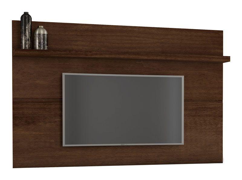 Painel para TV Titanium Castanho - RV Móveis