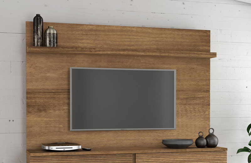 Painel para TV Titanium Naturale - RV Móveis