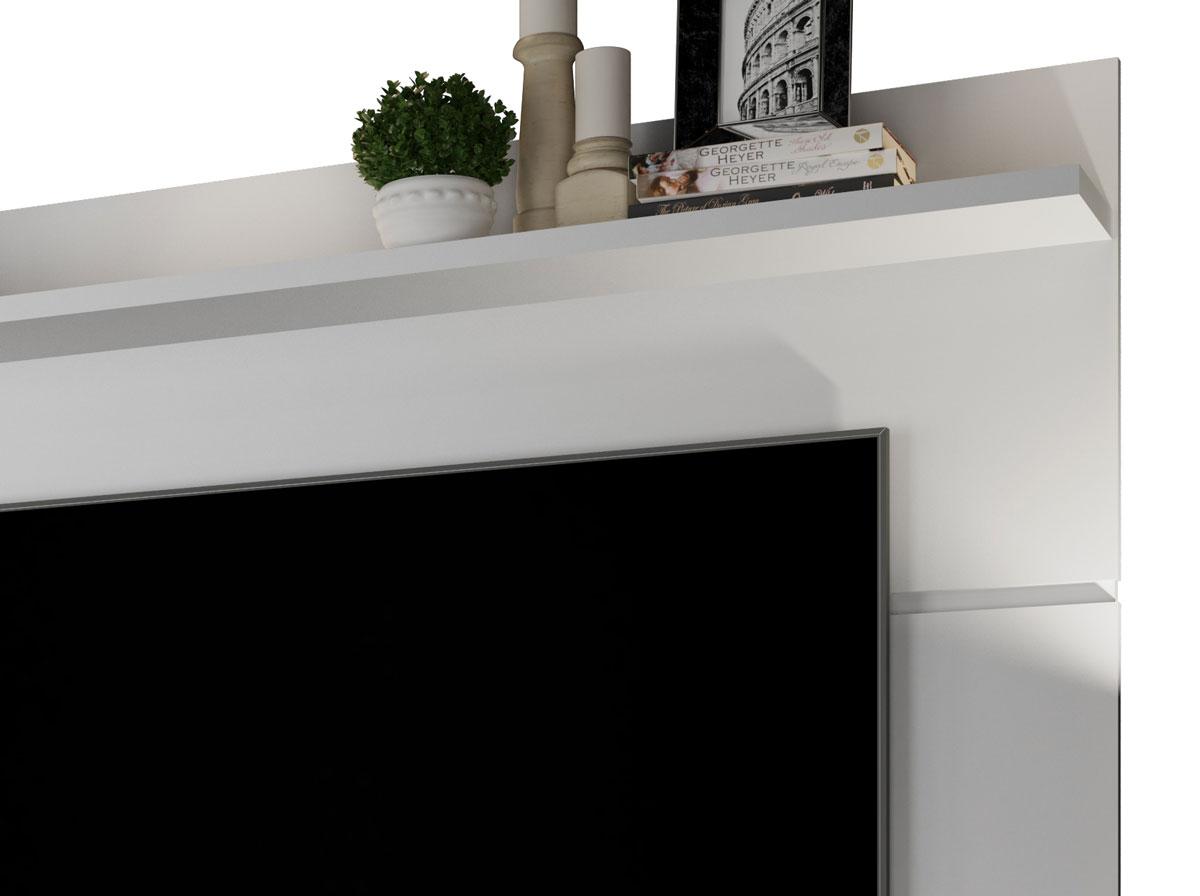 Painel para TV Vivare 1.8 Branco - Germai Móveis