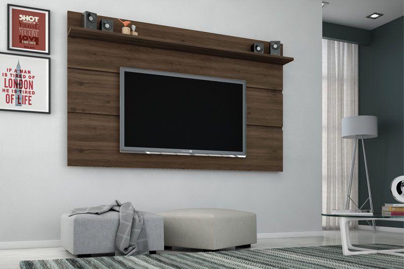 Painel para TV Vivare 1.8 Capucino - Germai Móveis
