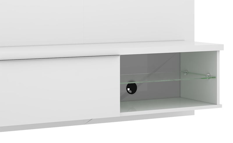 Painel Suspenso Lumia Branco - Mirarack