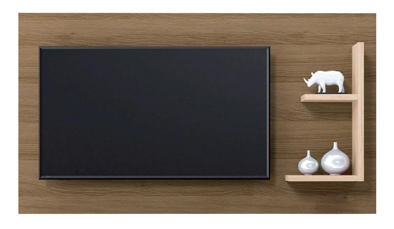 Painel para Tv Universo Cappuccino com Avela - Patrimar Moveis