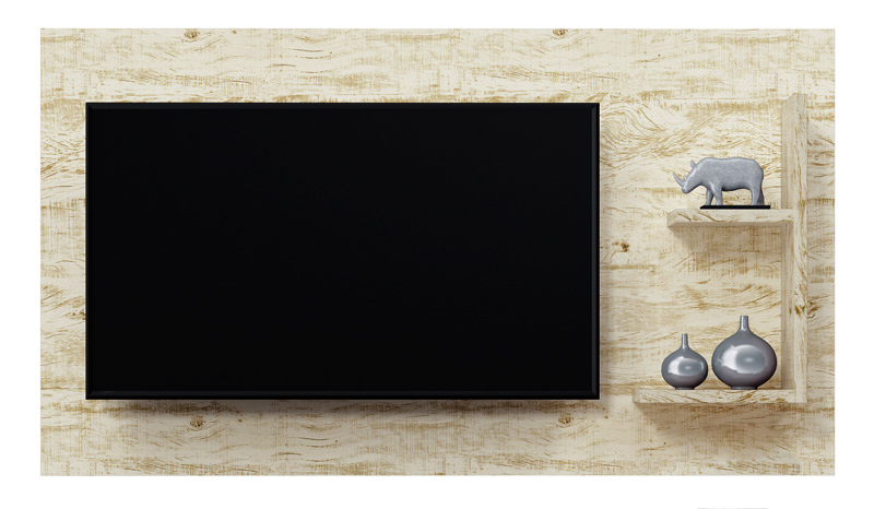 Painel para Tv Universo Perola - Patrimar Moveis
