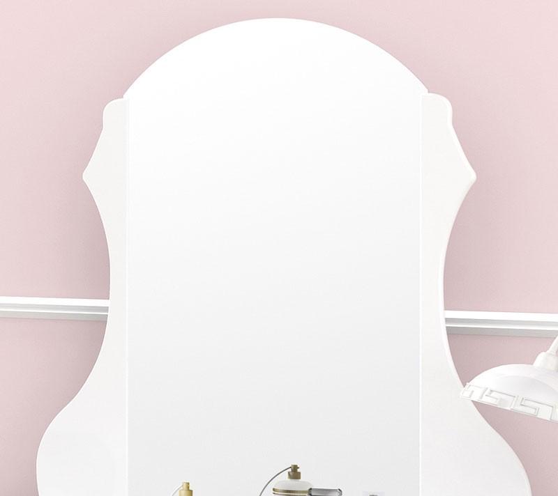 Penteadeira Charlotte Branco com Banqueta - Imcal