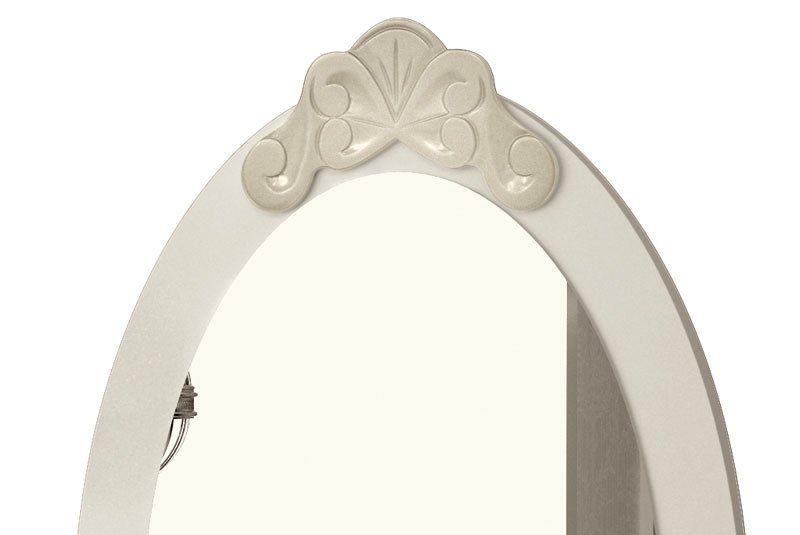 Penteadeira com Banqueta Luis XV Off White - EDN Móveis