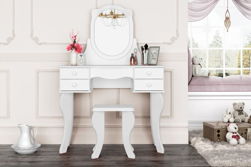 Penteadeira Princesa Branca - Patrimar Móveis