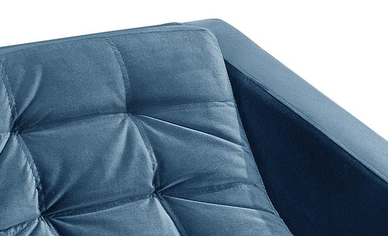 Poltrona Batna Azul PR437 - FortBello Estofados