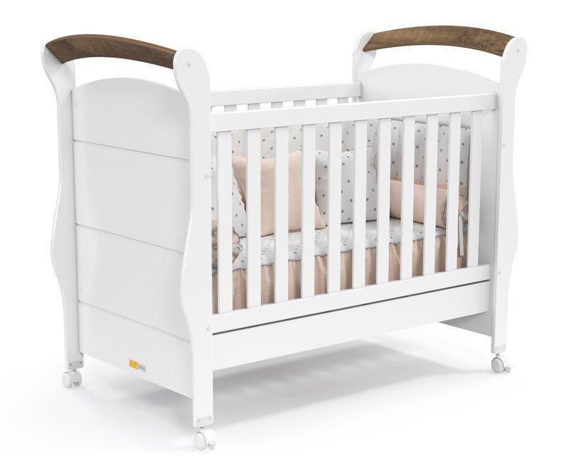 Quarto de Bebê Completo Amore 4 Portas Plus Branco Soft com Teka - Matic Móveis