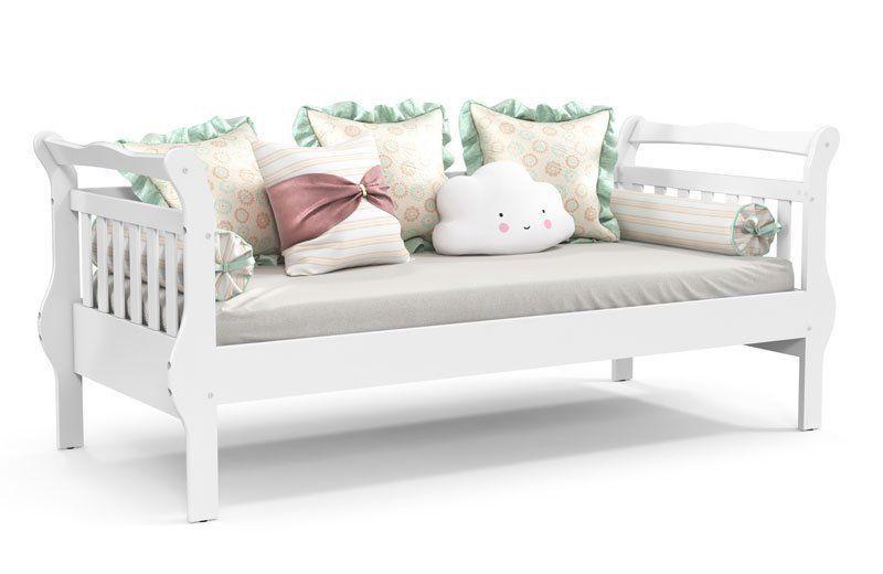 Quarto de Bebê Completo Amore 4 Portas Slim Branco Soft com Teka - Matic Móveis