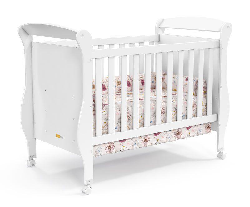 Quarto de Bebê Completo Branco Brilho Smart - Matic Móveis
