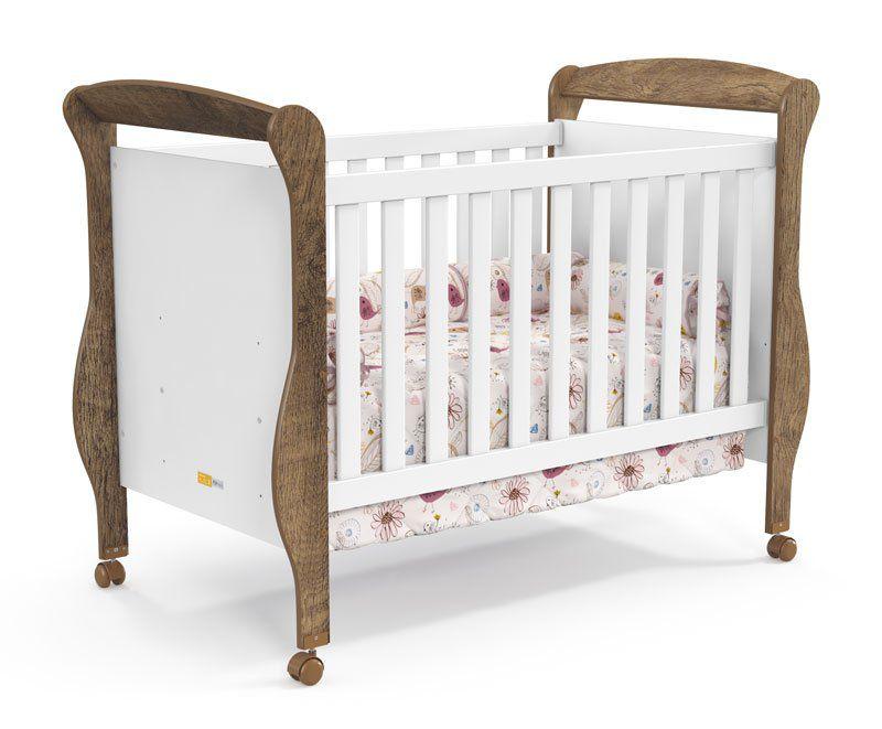 Quarto de Bebê Completo Branco Soft com Teka Smart - Matic Móveis