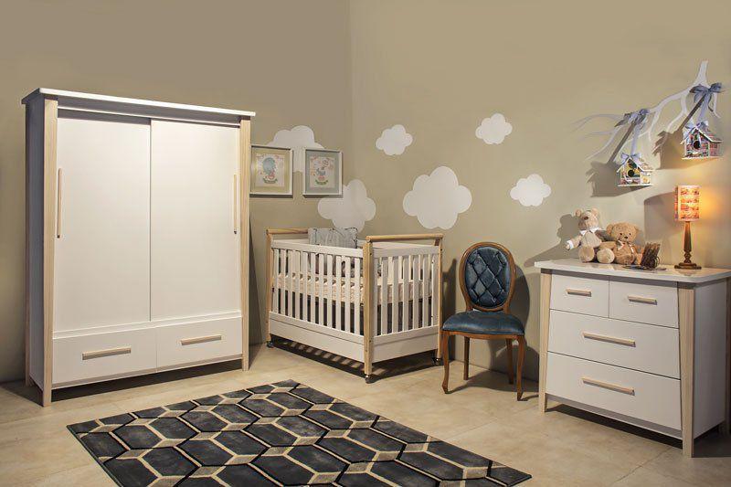 0f64885410 Quarto de Bebê Completo Branco Soft Liv - Matic Móveis - MoveisAqui - Loja  de móveis ...