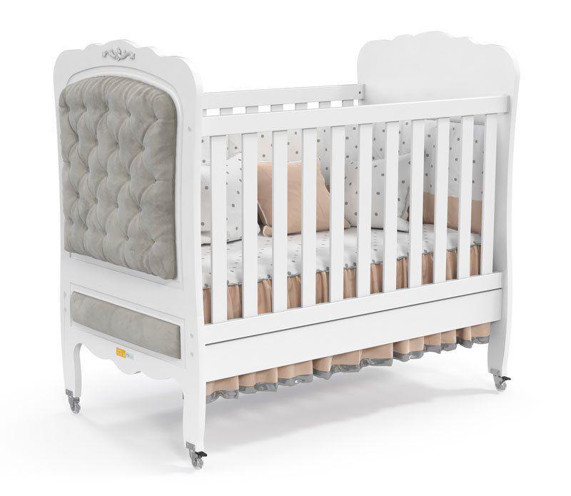 Quarto de Bebê Provençal Branco Soft - Matic Móveis