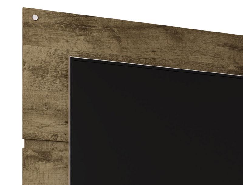 Rack com Painel Creta Madeira Rústica - Móveis Bechara  - MoveisAqui - Loja de móveis online!
