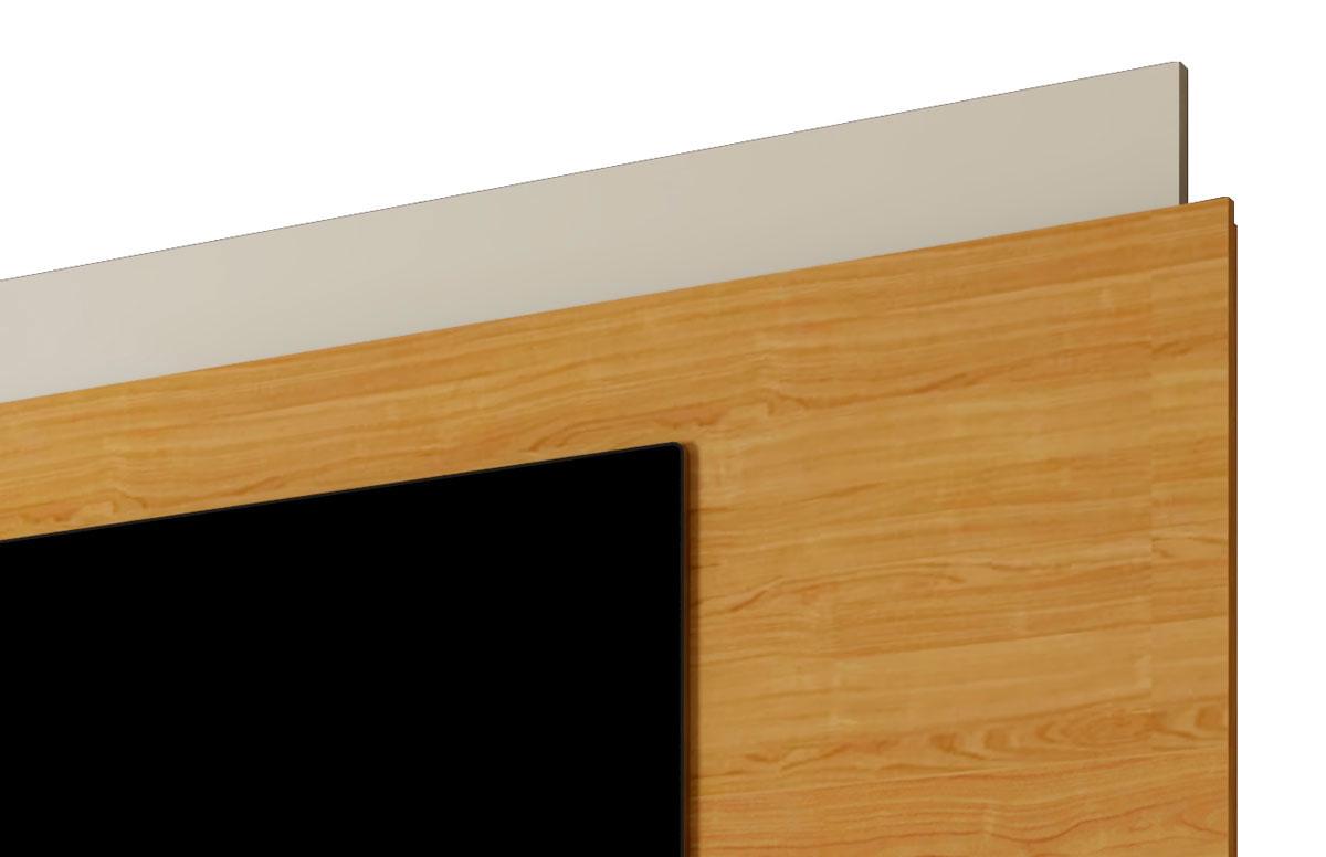 Rack com Painel Horizon 2.2 Off White com Nature - MoveisAqui