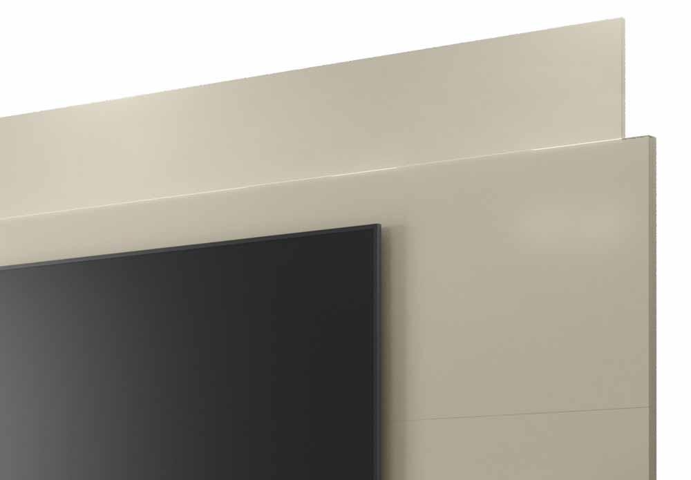 Rack com Painel Horizon 2.2 Off White - MoveisAqui