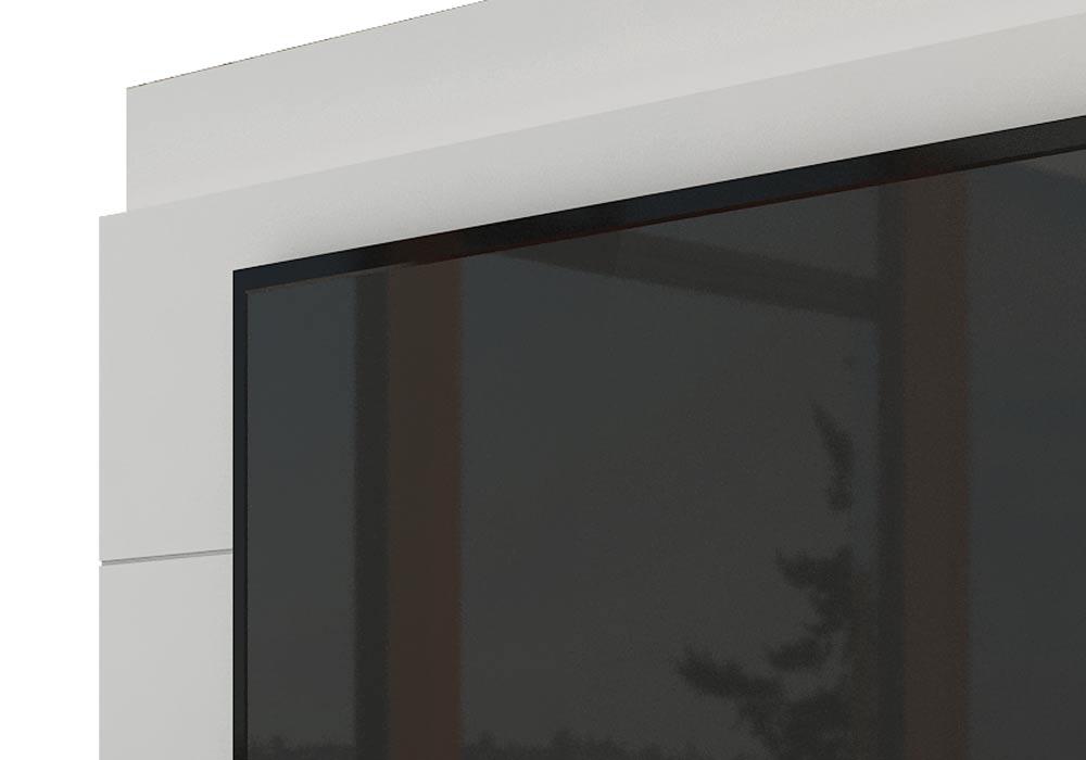 Rack com Painel Para TV 55 Polegadas Branco Classic +2G 1.8 com LED - Imcal Móveis