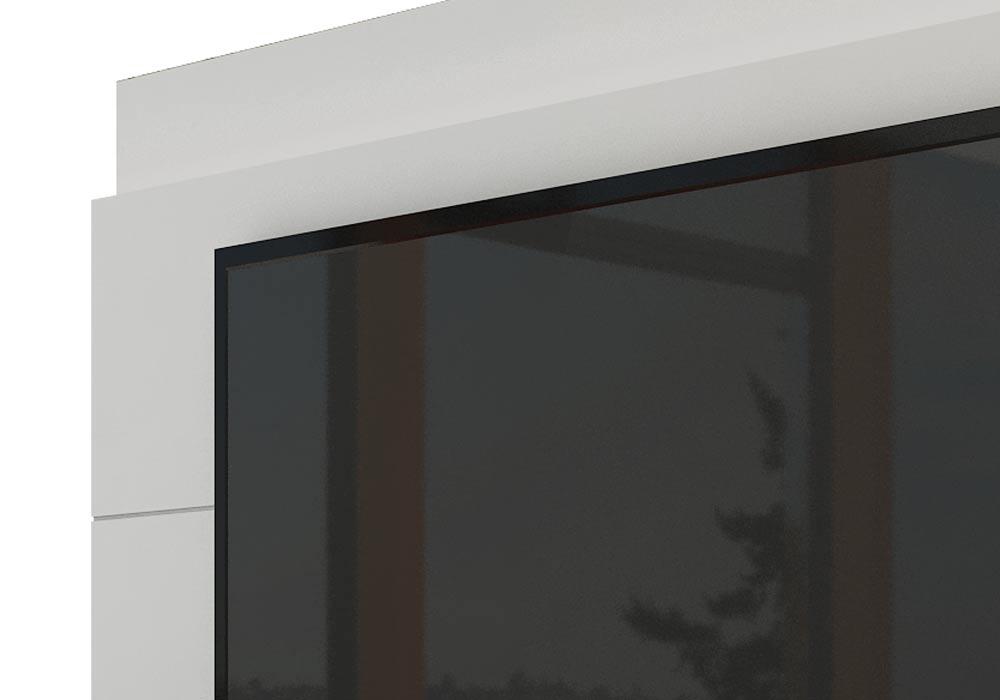 Rack com Painel Para TV 60 Polegadas Branco Classic +3G 2.2 com LED - Imcal Móveis