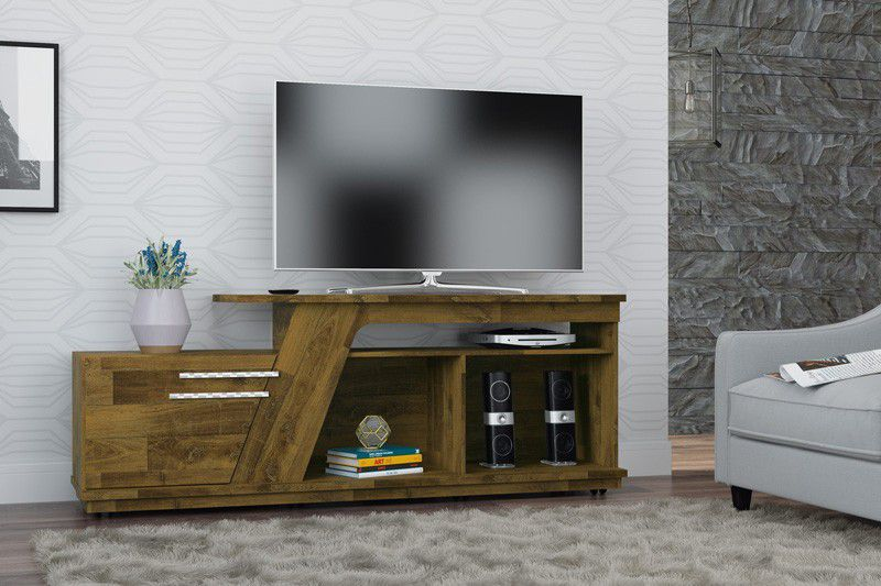 Rack para TV Caribean Amadeirado - RV Móveis