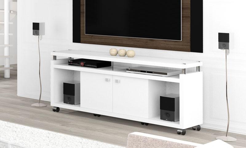 Rack para TV Centurion Branco - Imcal