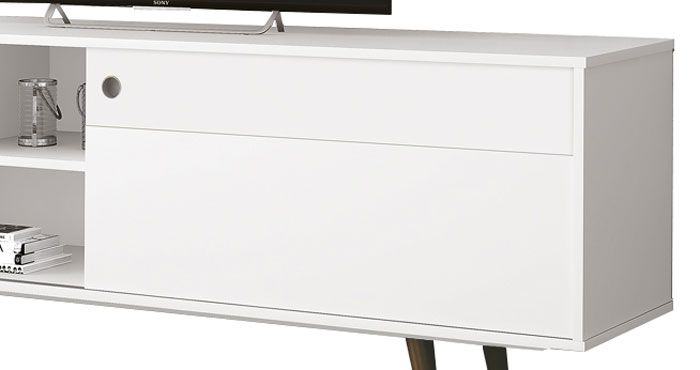 Rack para Tv Euro New Branco - Edn Moveis