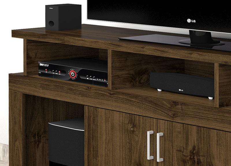 Rack para TV New Imbuia - Imcal