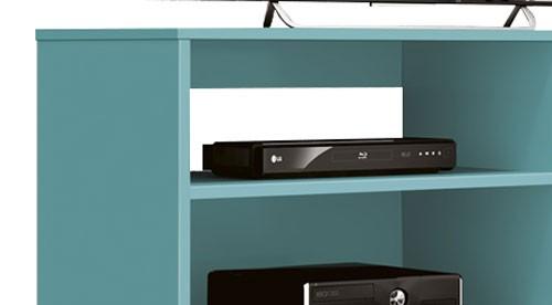 Rack para TV Reale Acqua - Edn Móveis  - MoveisAqui - Loja de móveis online!