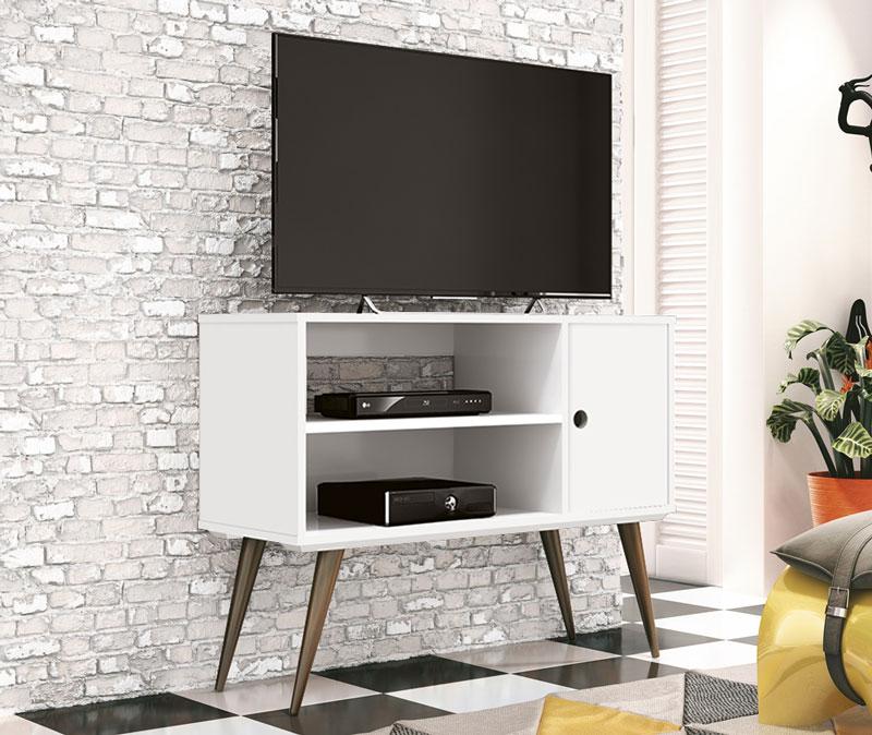 Rack para TV Reale Branco - Edn Móveis