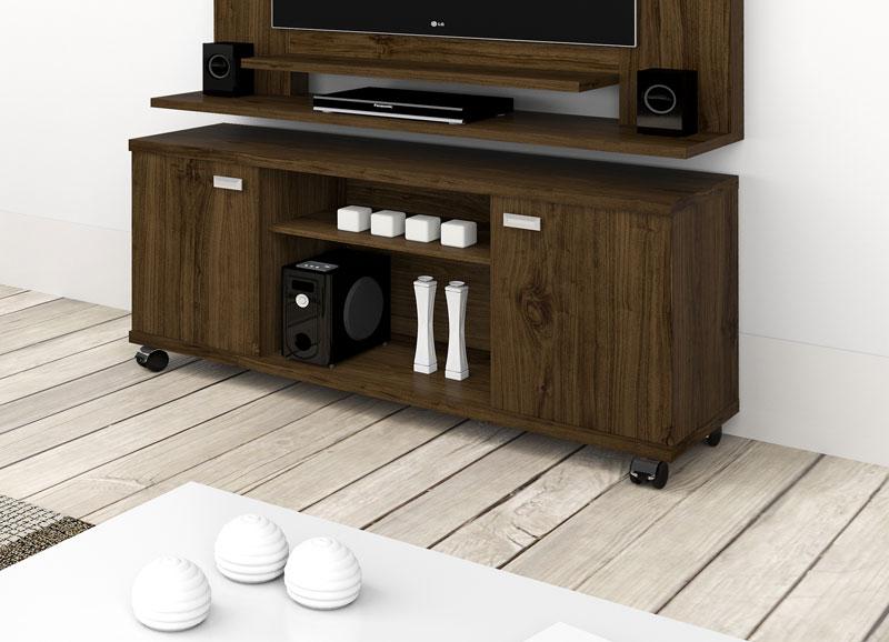 Rack para TV Triton Imbuia - Imcal  - MoveisAqui - Loja de móveis online!
