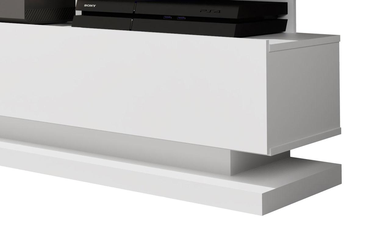Rack para TV Vivare Branco - Germai Móveis