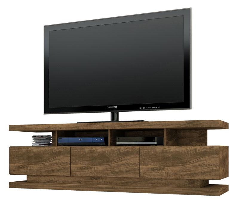 Rack para TV Vivare Gold Wood - Germai Móveis