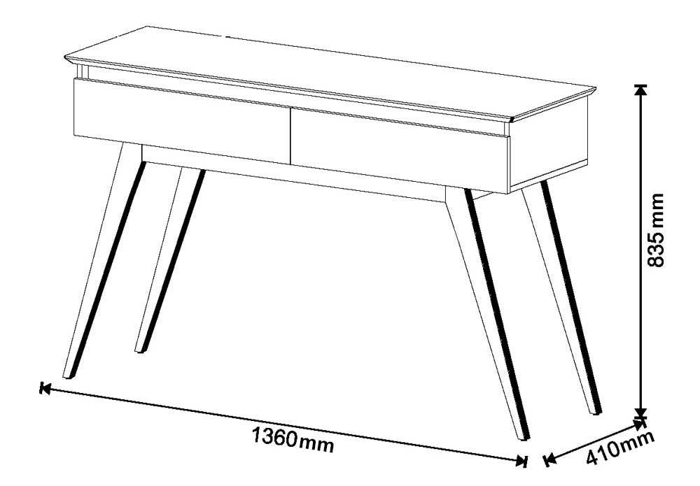 Sala de Estar Rack com Painel 2.2 + Buffet + Aparador + Mesa de Centro Branco - Imcal Móveis