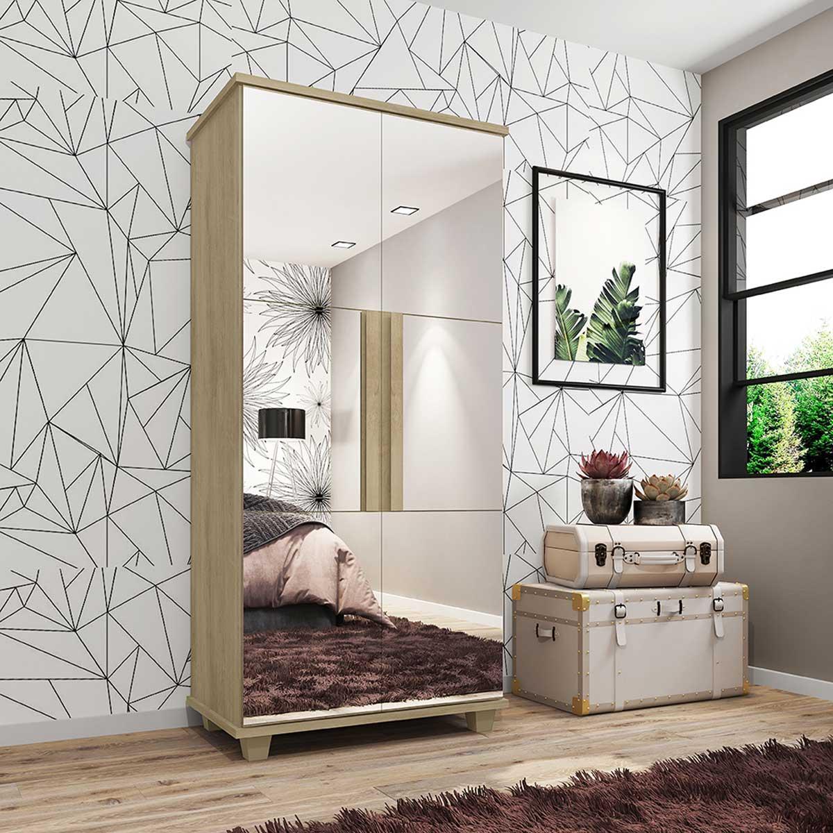 Sapateira com Espelho Requinte Niágara - RV Móveis