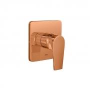 Acabamento Monocomando De Chuveiro Para Alta e Baixa Pressão Red Gold 4993.GL26.CHU.RD Deca