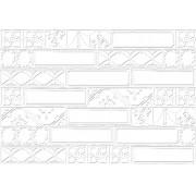 Porcelanato Bisa Blanc Ceusa 43.7x63.1 - Cx1.65MT Ref.8416