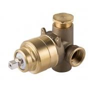 Base Misturador Monocomando Chuveiro AP/BP DN20(3/4)  Alta Vazão Cromado Docol