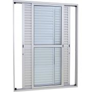 Alumifort Porta Balcão de Correr - 2.16x1.60x0.13 Ref. 77.33.248-0 Sasazaki