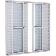 Alumifort Porta Balcão de Correr - 2.16x2.00x0.13 Ref. 77.33.242-1 Sasazaki