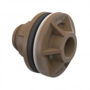 Solda Adaptador Com Anel Para Caixa D'água 20mm - 1/2 Tigre